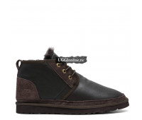 Mens Neumel Boots Chocolate