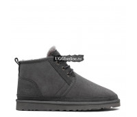 Mens Neumel Boots Grey