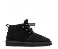 Mens Neumel Boots Black