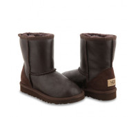 KIDS Classic Short Metallic Chocolate