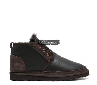 Mens Neumel Boots Metallic Chocolate