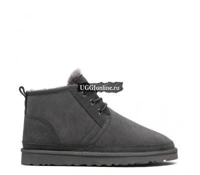 Mens Neumel Boots Grey