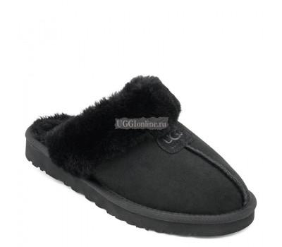 Mens Slippers Scufette Black